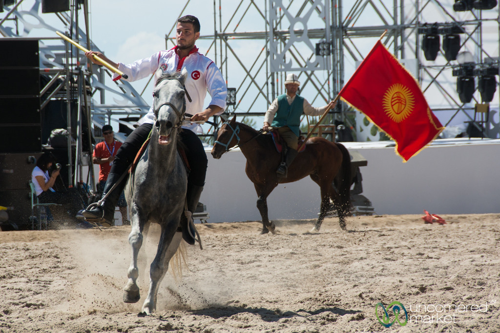 Cirit Competition at the World Nomad Games, Kyrgyzstan