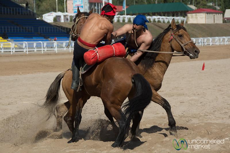 Er Enish (Horse Wrestling) - World Nomad Games, Kyrgyzstan