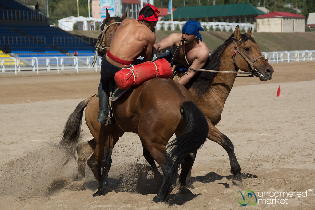 Er Enish (Horse Wrestling) - World Nomad Games, Kyrgyzstan