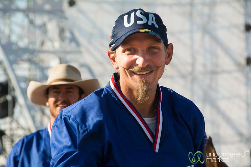 American Kok-boru Team Member (aka, Nomad Cowboys) - World Nomad Games 2016