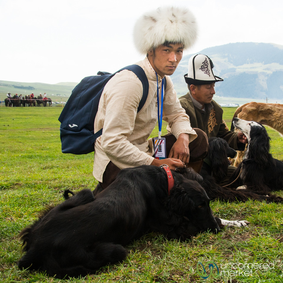 Taigan Dogs and Their Owners - World Nomad Games, Kyrgyzstan