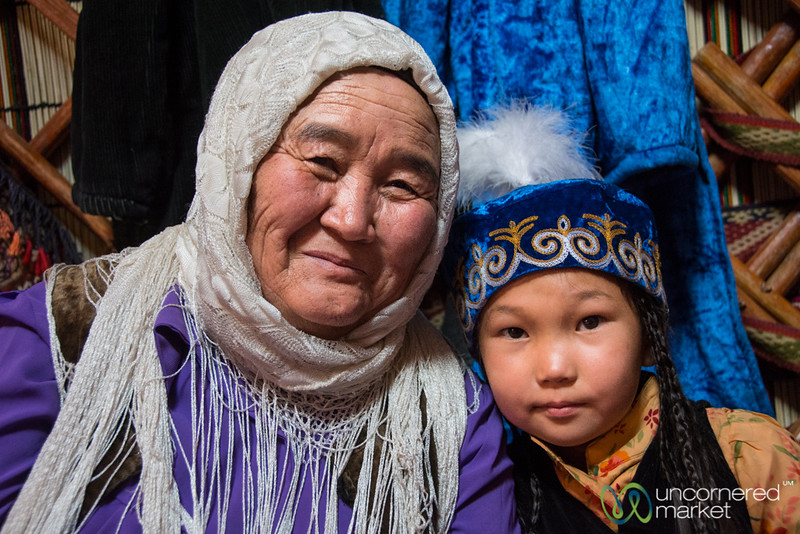 Proud Kyrgyz Grandmother - World Nomad Games, Kyrgyzstan