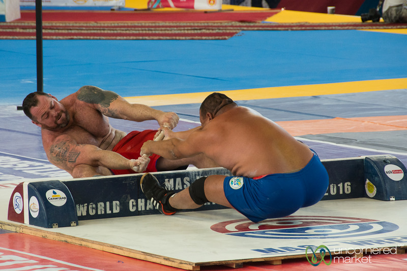 Mas Wrestling Competitions, World Nomad Games 2016 - Kyrgyzstan