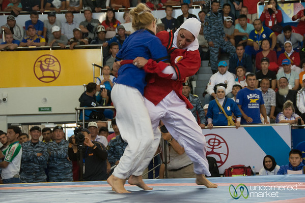 Women's Alysh Wrestling - World Nomad Games, Kyrgyzstan