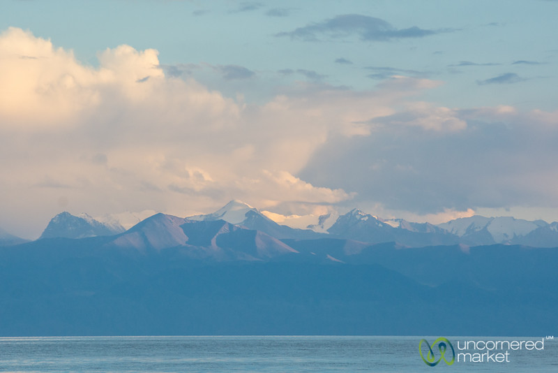 Southern Shore of Lake Issyk-Kul - Kyrgyzstan