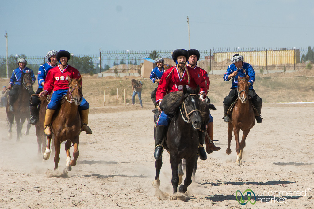 American Kok-boru Team Plays Russia at the World Nomad Games 2016