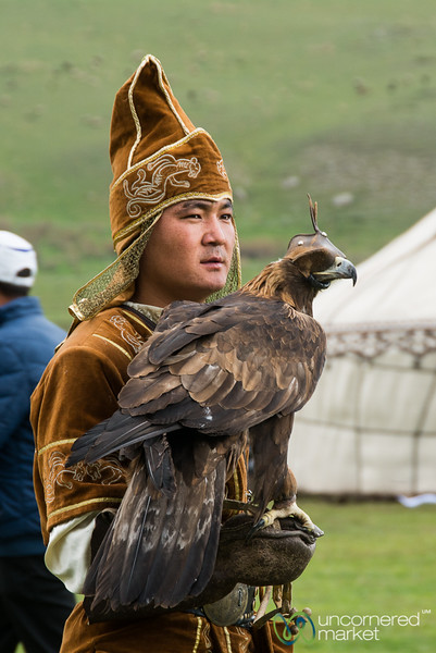 Golden Eagle Hunting - World Nomad Games, Kyrgyzstan