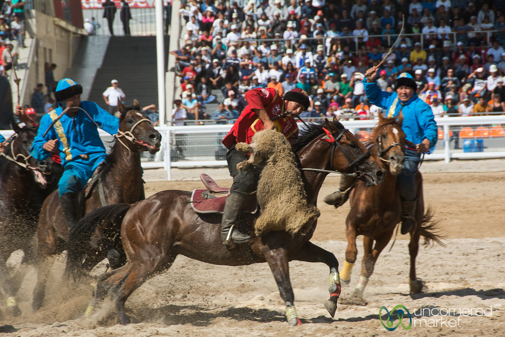 Kyrgyzstan-Kazakhstan Kok-boru Final - World Nomad Games 2016