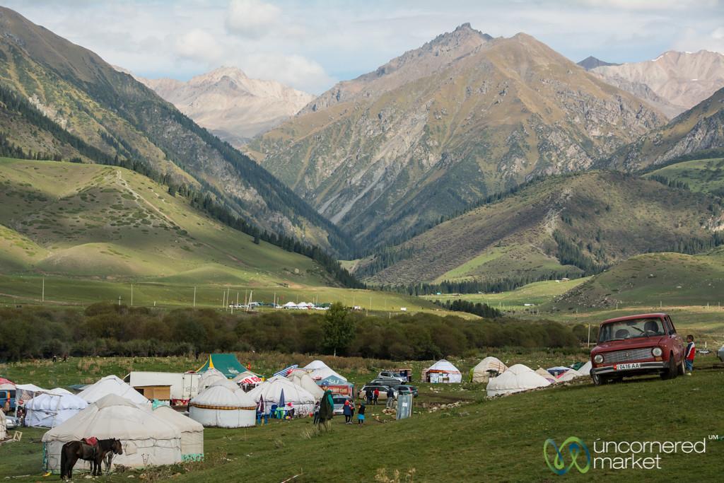 Yurt Village at Kyrchyn Jailoo - World Nomad Games, Kyrgyzstan