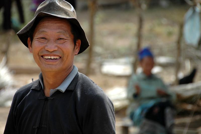 Smiling Hmong Village Chief - Luang Prabang, Laos