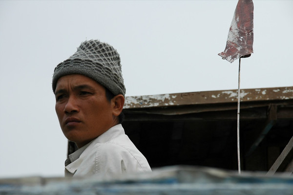 Man Concentrating - Nong Khiaw, Laos