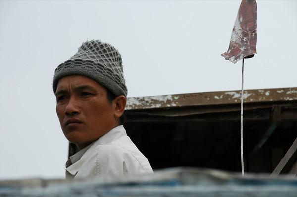 Man Concentrating - Nong Khiaw, Laos