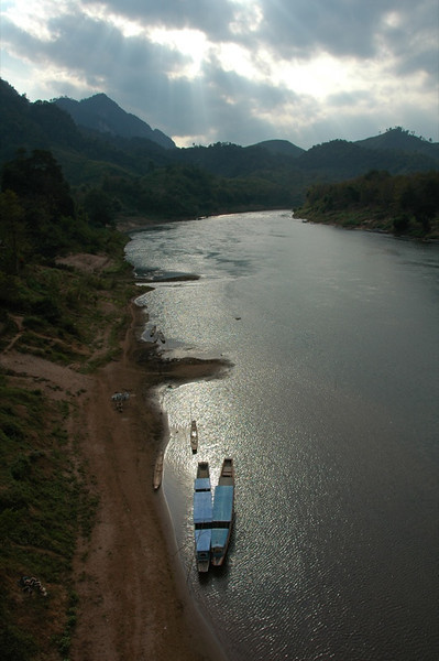 Nam Ou River Boats - Nong Khiaw, Laos