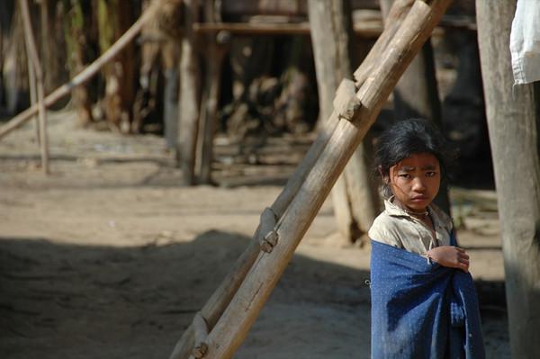 Khmu Girl - Luang Prabang, Laos
