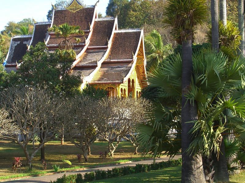 Buddhist Temple - Luang Prabang, Laos