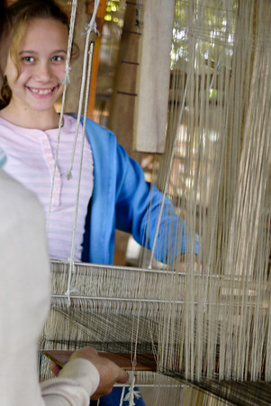 weaving loom laos