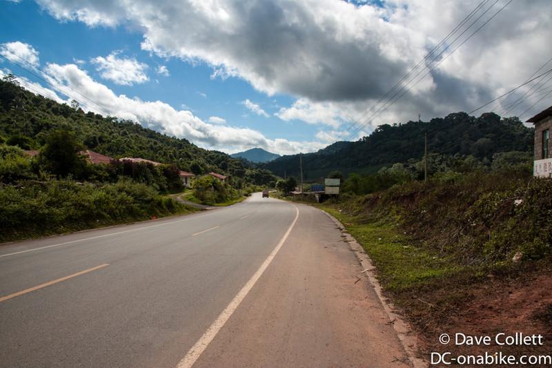 In Laos!