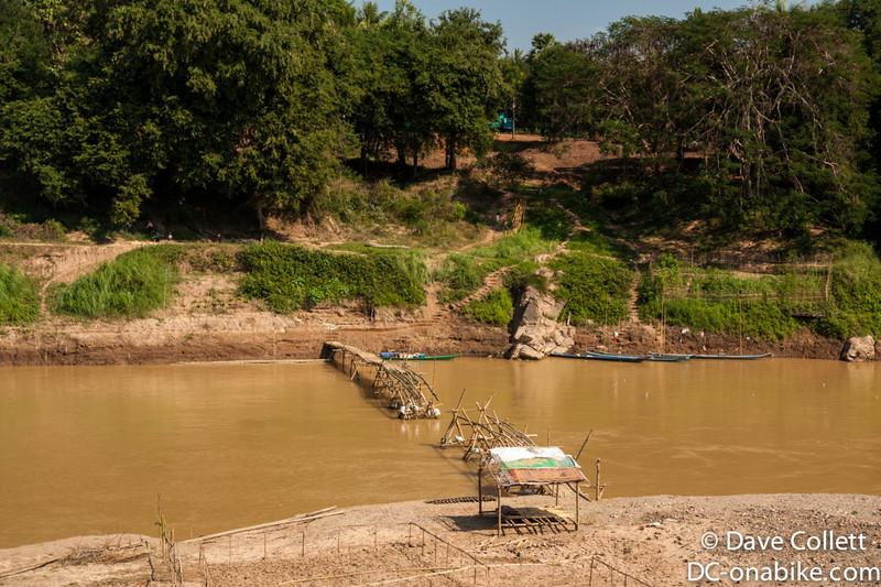 Dry season bridge- needs a repair job..