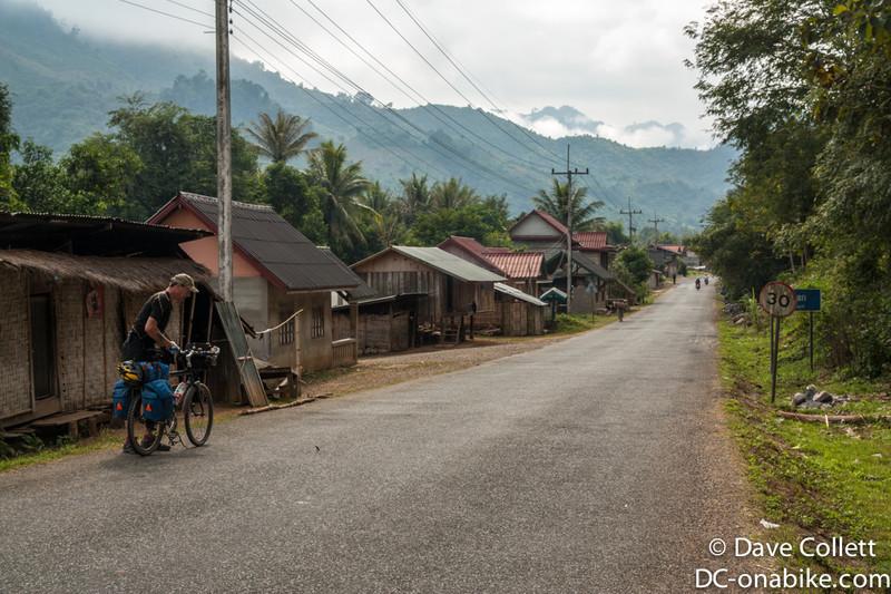 Rural Lao village