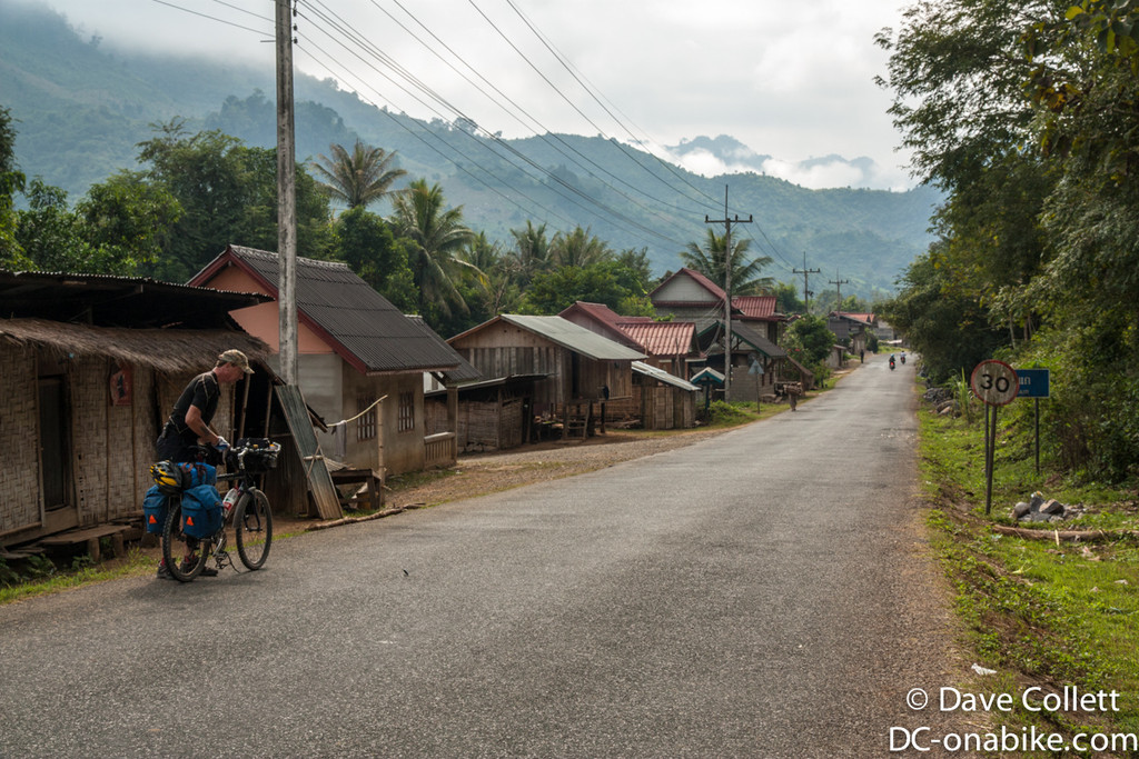 Rural Lao village