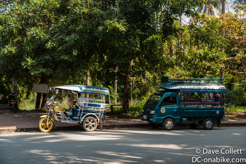 Typical Laos forms of transport