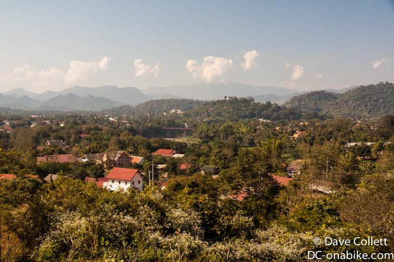 Looking over Luang Prabang