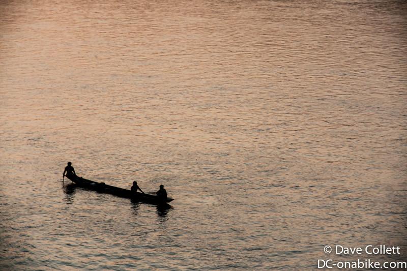 Fishermen on the Mekong