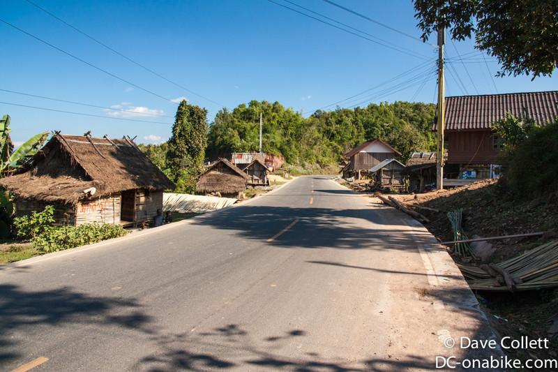 Rural Laos village