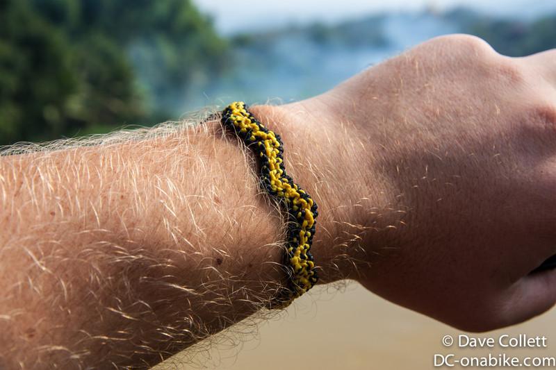 Bracelet in Wellington Phoenix colours!