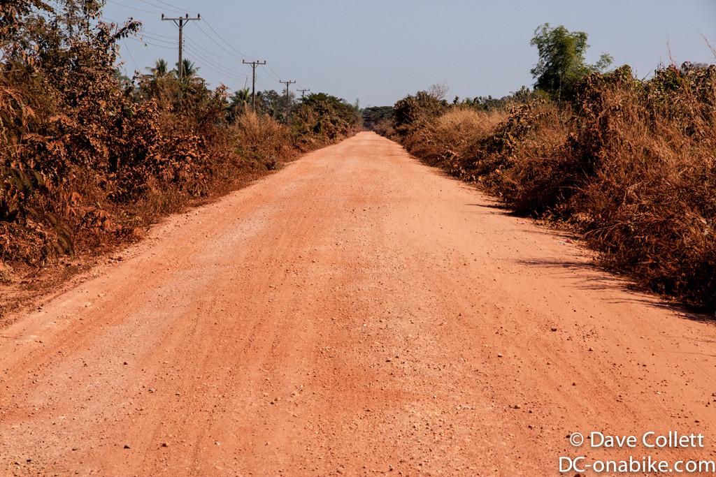 Dusty road..