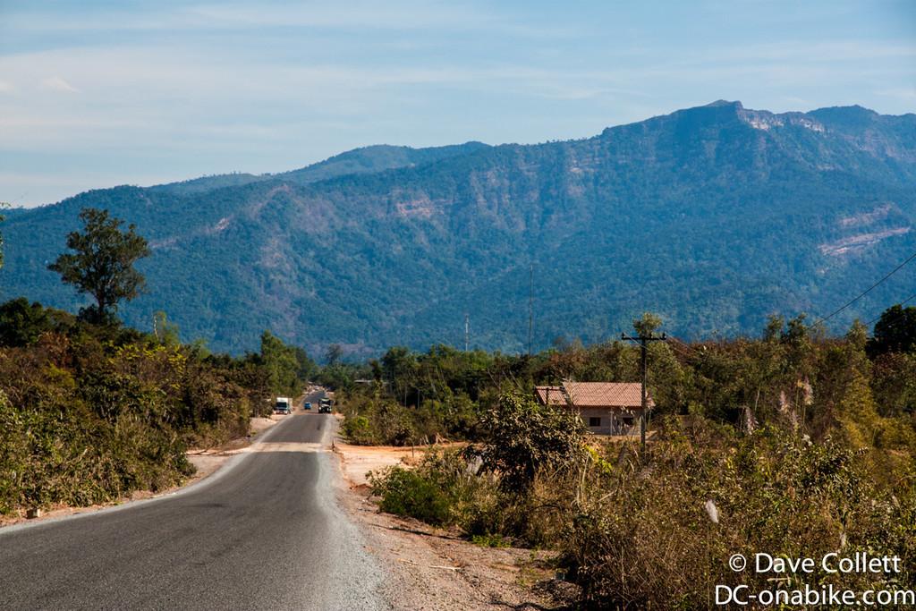 Lao roads..