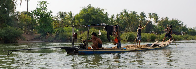 River life by the Mekong (Foto: Geir)
