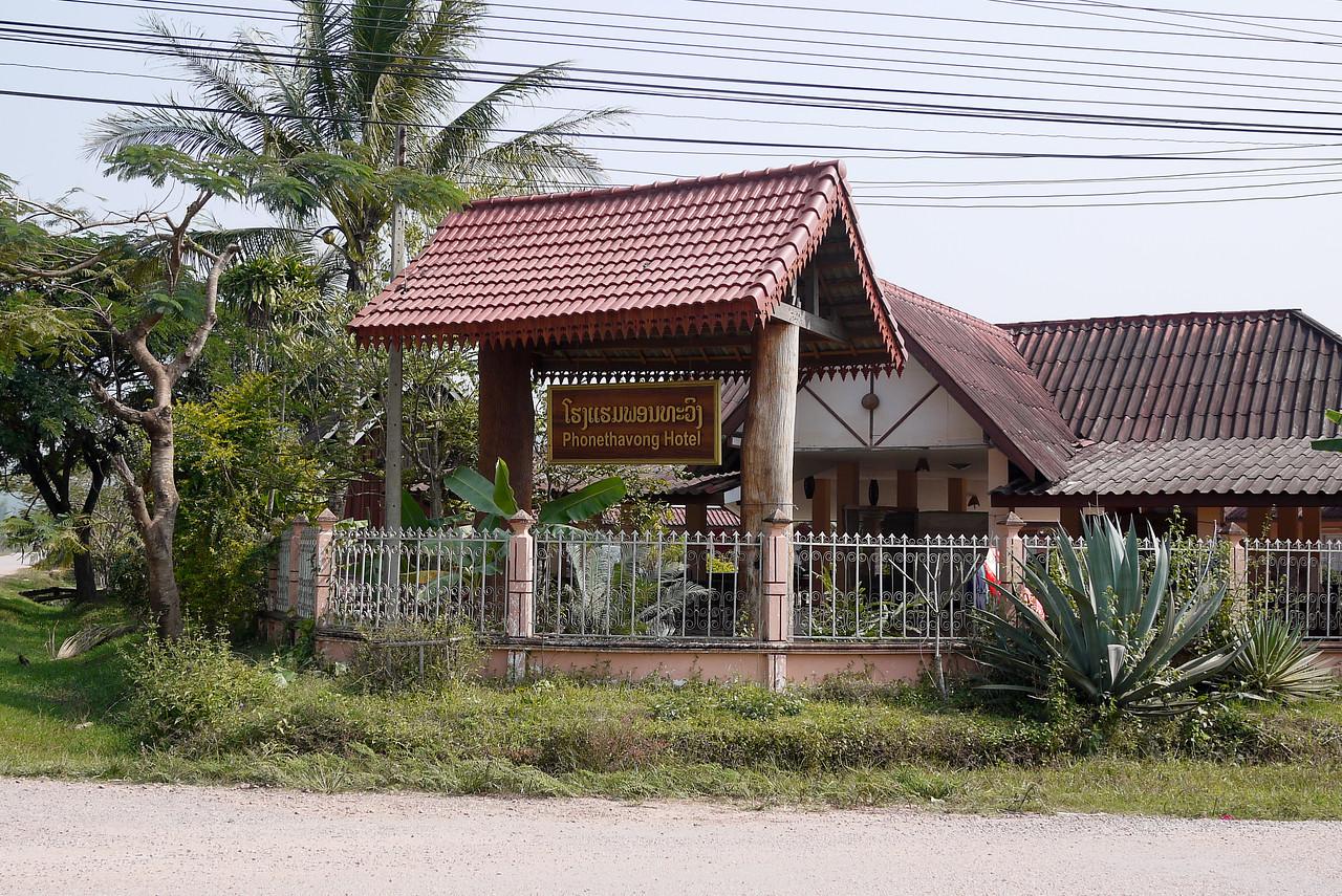 Guesthouse in Hongsa, Laos.