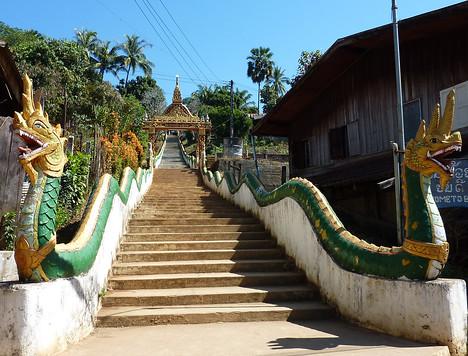 Wat Chome Hhaou Manirain, Huay Xai - Laos
