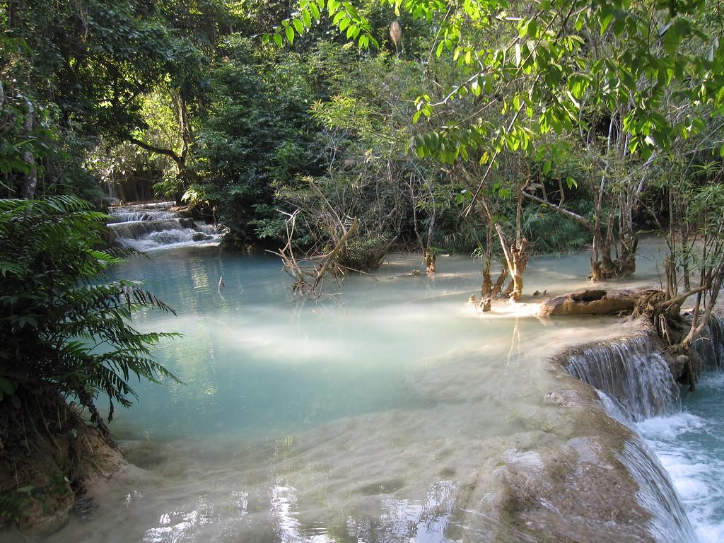 should you visit the kuang si falls in laos?