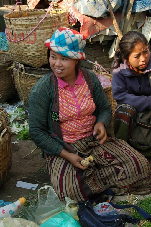 Lady with a Hat - Luang Prabang, Laos