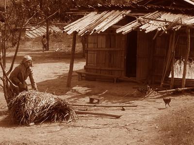 Hmong Village - Luang Prabang, Laos