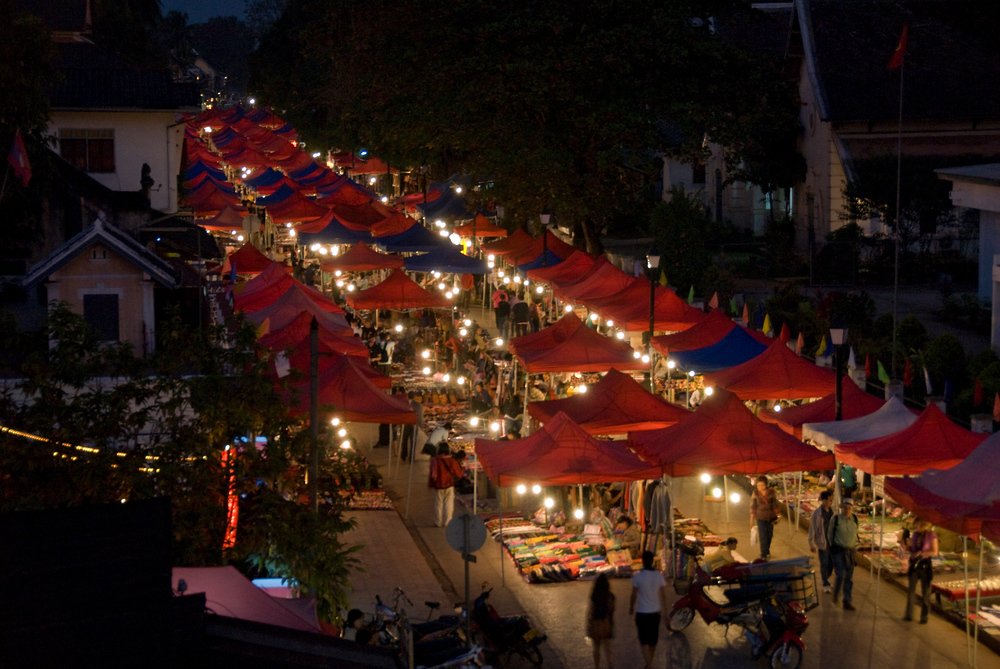 Night Market, Luang Prabang, Laos