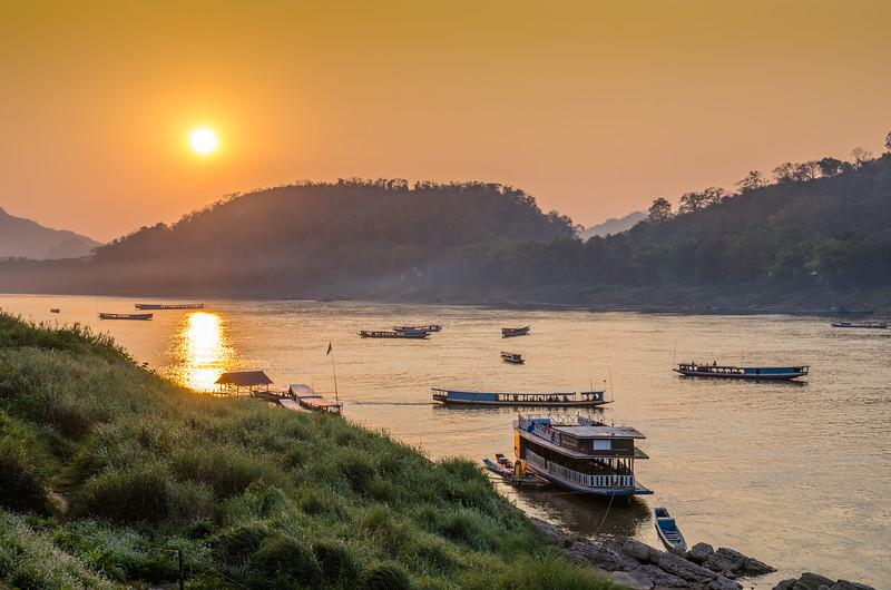 Another beautiful sunset in Luang Prabang.