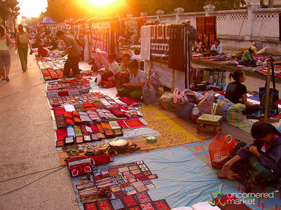 Night Market - Luang Prabang, Laos