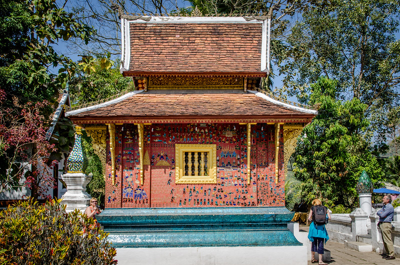 Another small temple at Wat Xieng Thong.