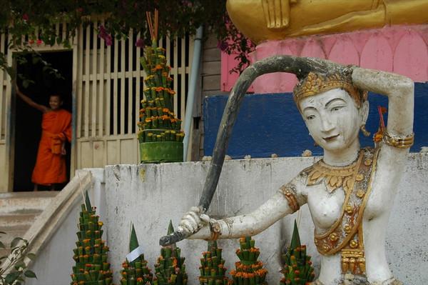Torani Statue - Luang Prabang, Laos