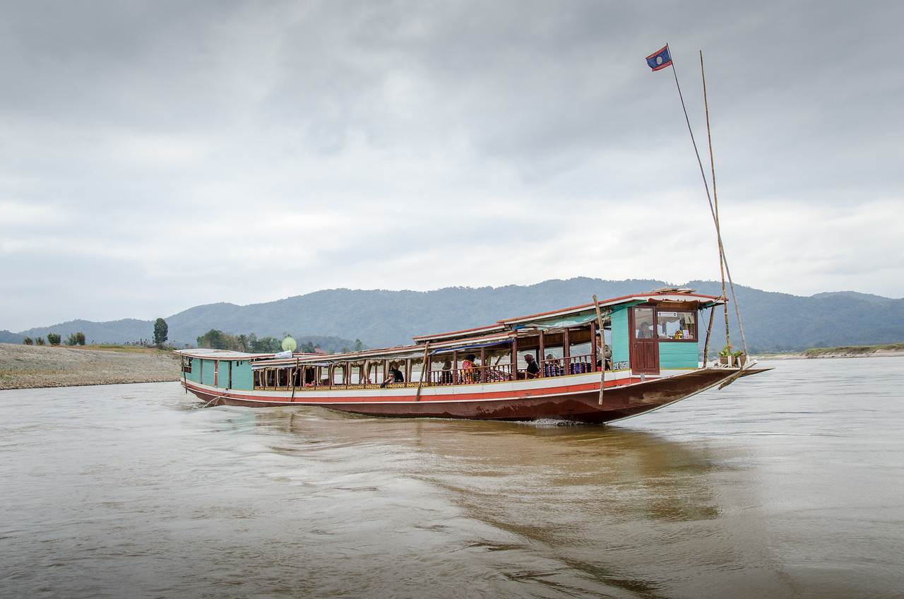 Another Mekong cruise boat.