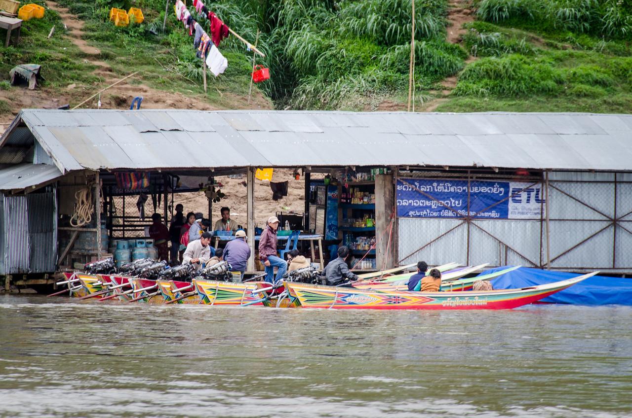 Speedboat headquarters.