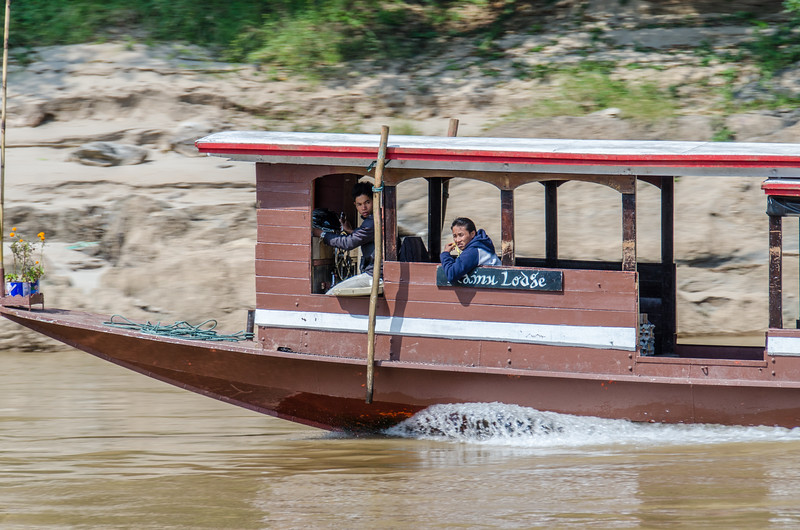 "The shuttle boat for the Kamu Lodge.  <a href=""http://www.kamulodge.com"">http://www.kamulodge.com</a>"