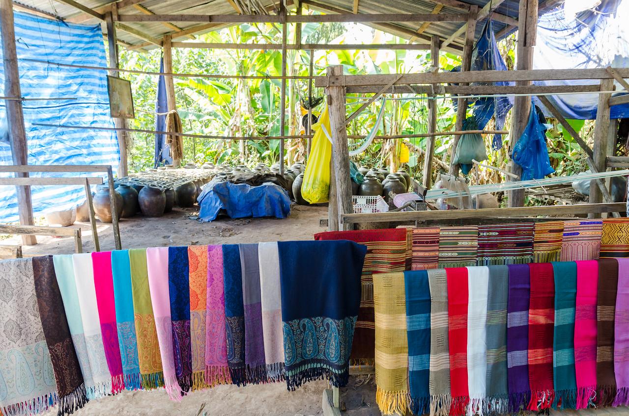 XangHai Village is also known for silk work.