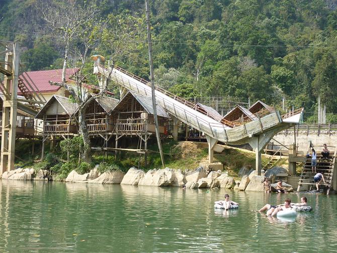 Tubing Slide - Vang Vieng
