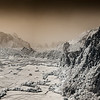 An infrared panorama from the top of one of the karsts. It was a hot sweaty hike up, but worth it.