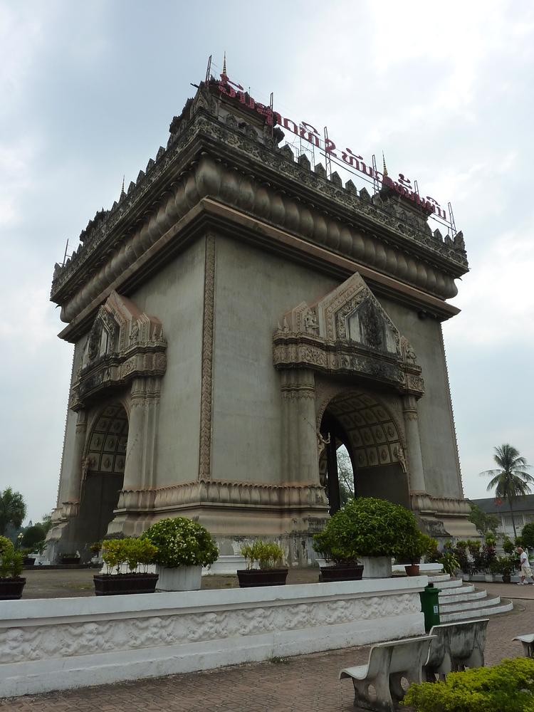 Patuxay Monument, Vientiane - Laos