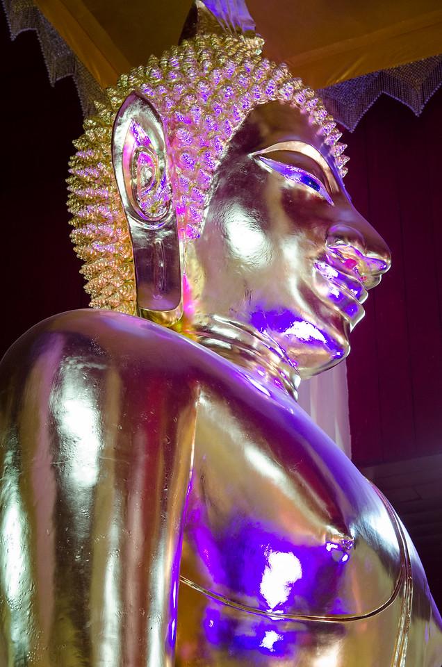 Buddha in Wat Chan.